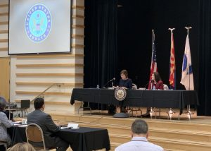 Sens. Martha McSally and Susan Collins held a Senate field hearing Friday to discuss Alzheimer's disease and its impact on the elderly. (McSally's Office)