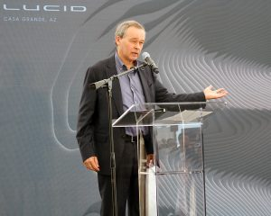 Peter Rawlinson, CEO/CTO, Lucid Motors. (Emily Richardson/Chamber Business News)